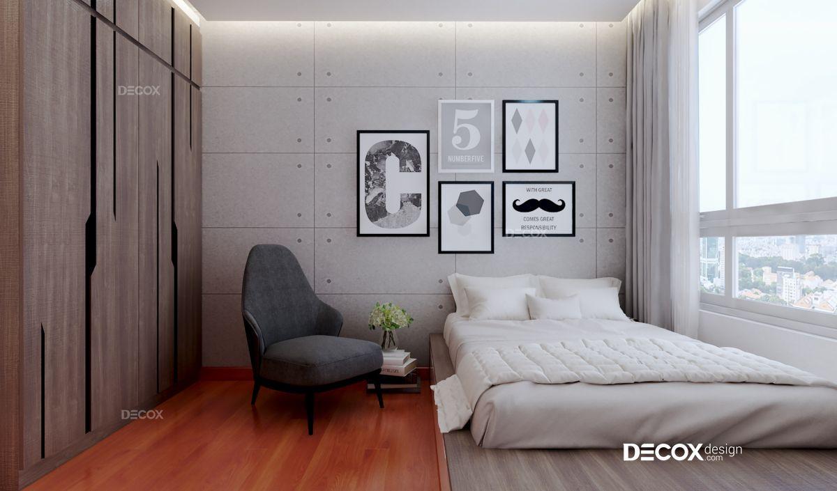 Thiết kế nội thất chung cư Vista Verde 80m2