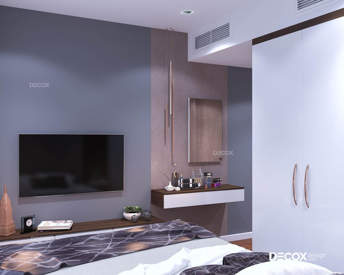 Thiết kế nội thất chung cư Rivera Park 67m2