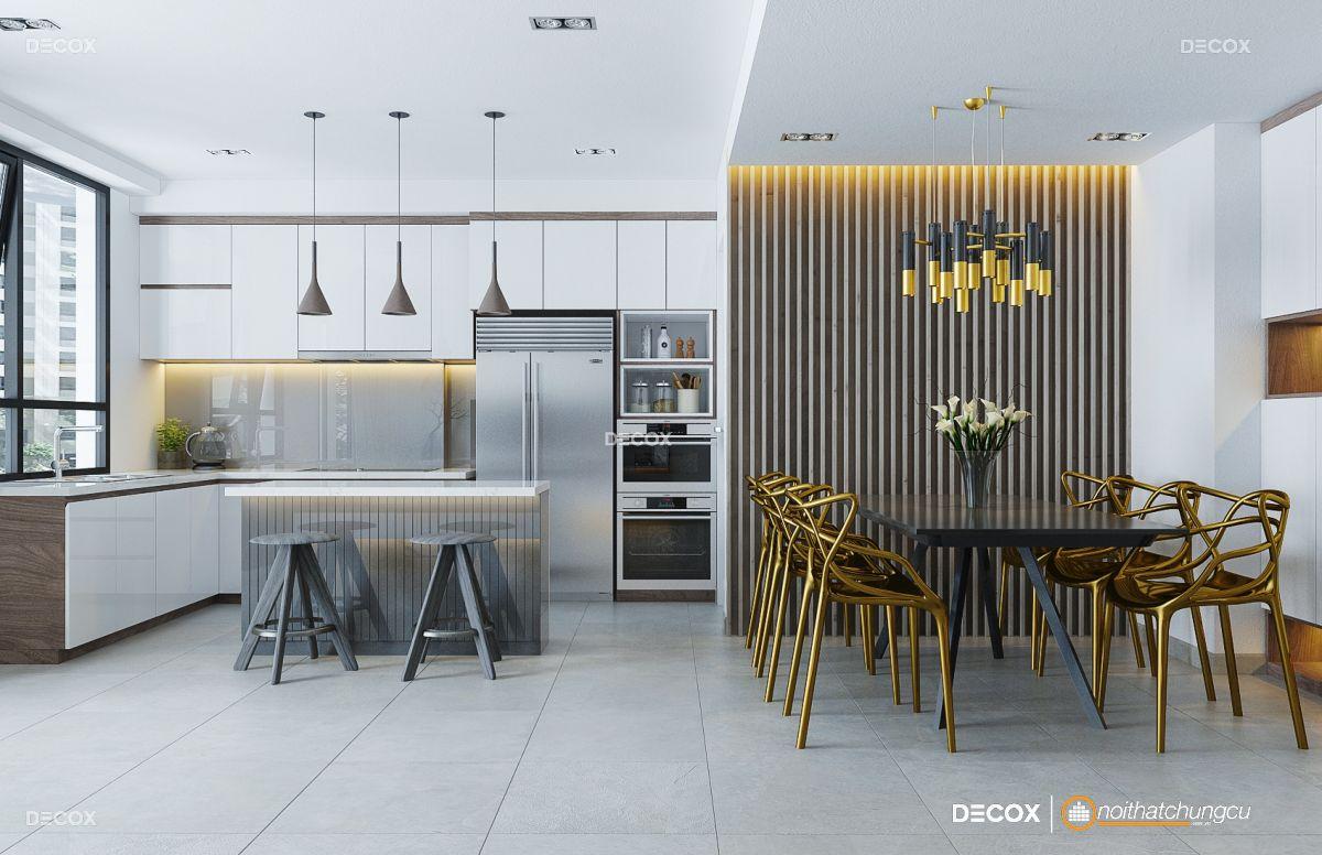 Thiết kế nội thất căn hộ Lakeview City