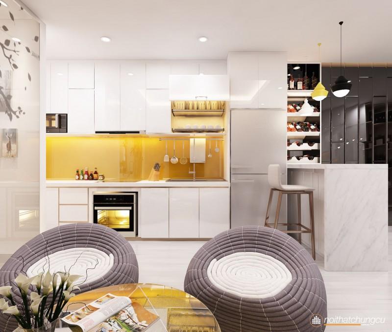 Thiết kế phòng bếp nhỏ đẹp