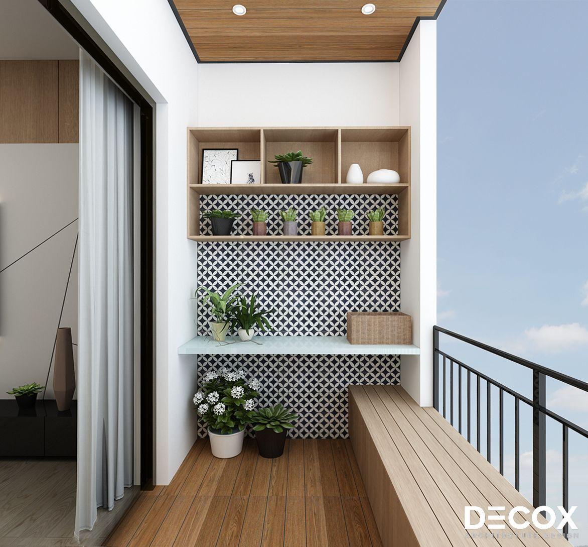 Thiết kế ban công căn hộ chung cư đẹp