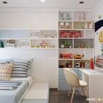 5 mẫu thiết kế phòng ngủ đa năng cho bé yêu nhà bạn
