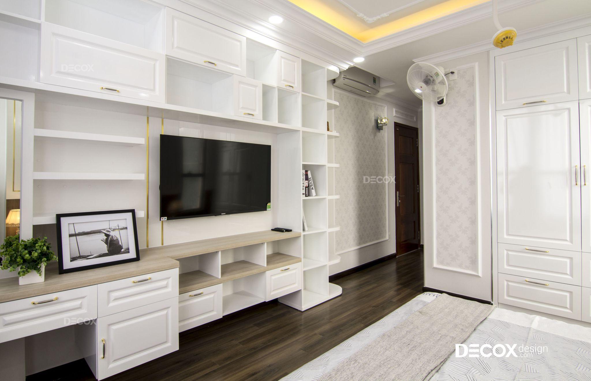 Thi công nội thất căn hộ Garden Gate 106m2