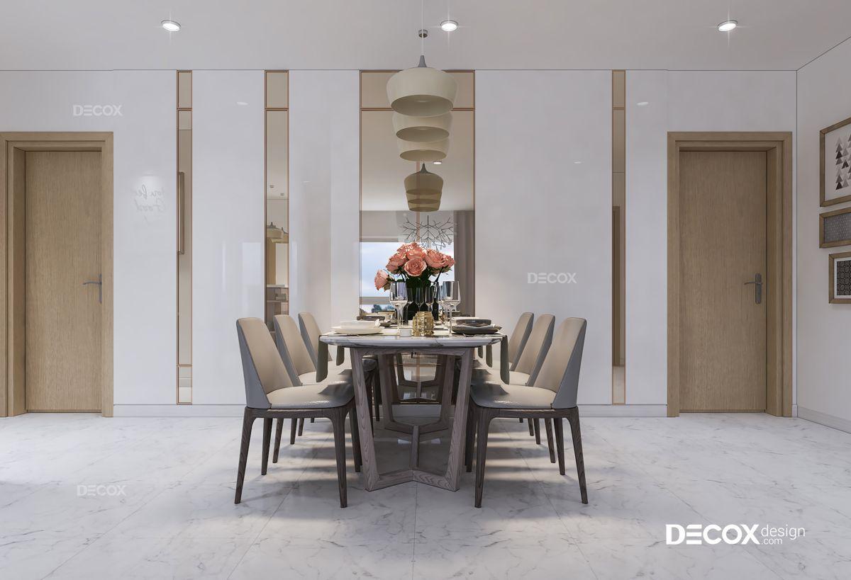 Thiết kế nội thất căn hộ An Gia 83m2
