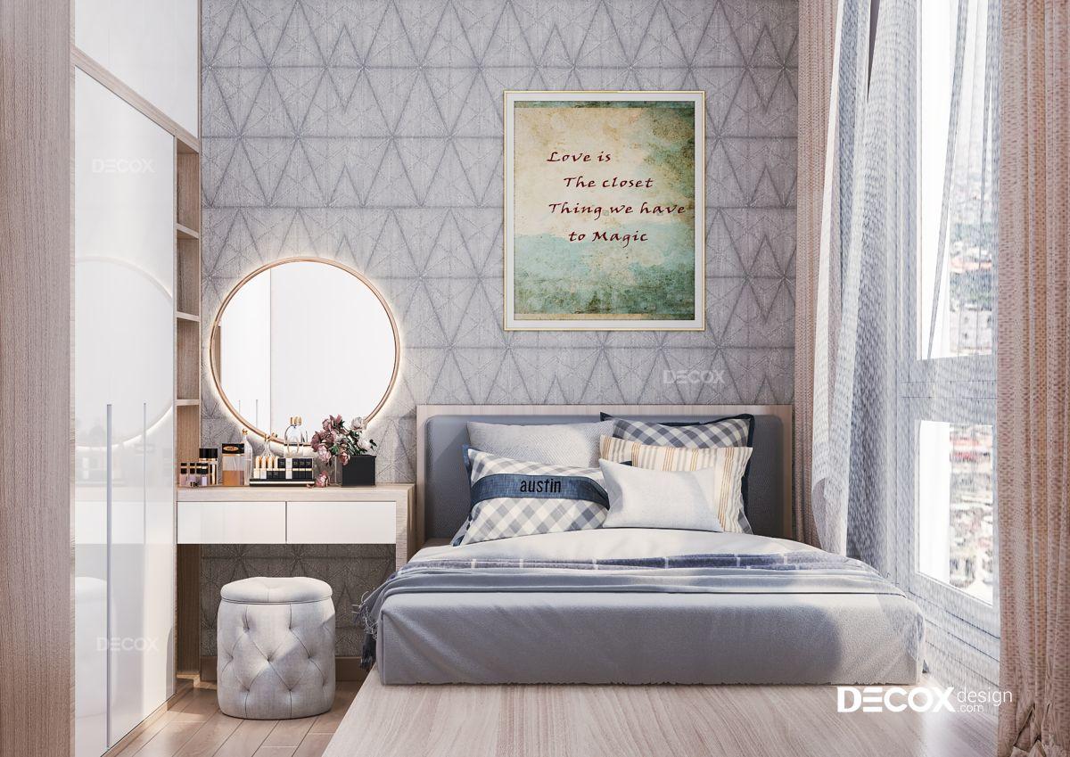 Thiết kế nội thất chung cư An Gia 83m2