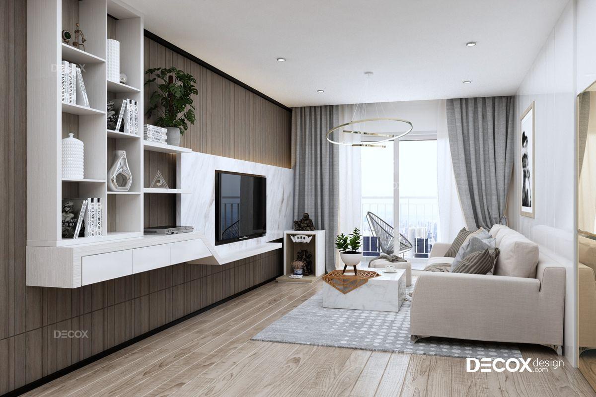 Thiết kế nội thất chung cư Gold View 93m2