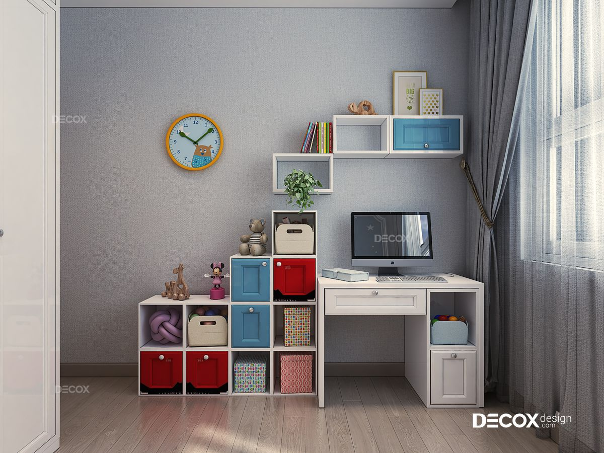 Thiết kế nội thất căn hộ Hưng Phát 92m2
