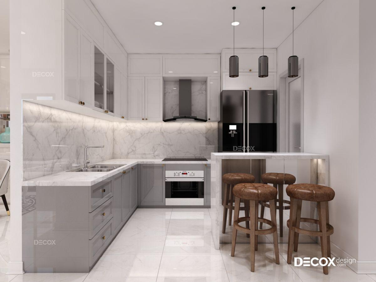 Thiết kế nội thất chung cư Hưng Phát 92m2