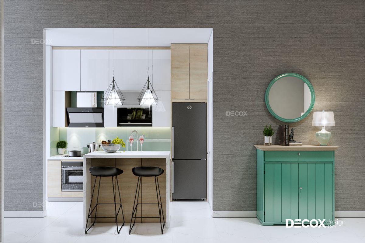 Thiết kế nội thất chung cư Kingston Residence 39m2