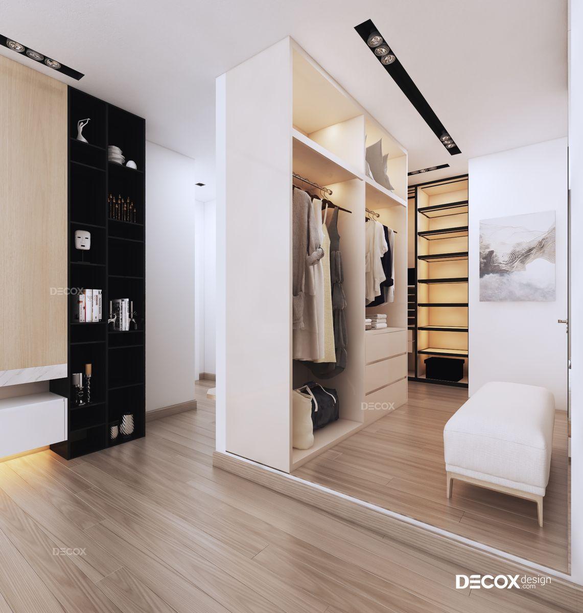 Thiết kế nội thất căn hộ Tropic Garden 146m2