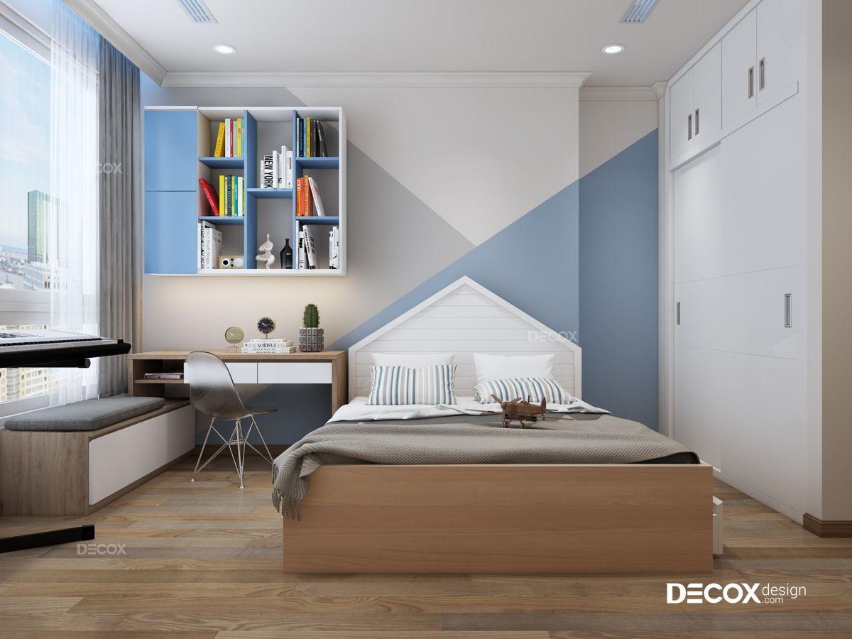 Thiết kế nội thất chung cư Vinhomes Central Park 81m2