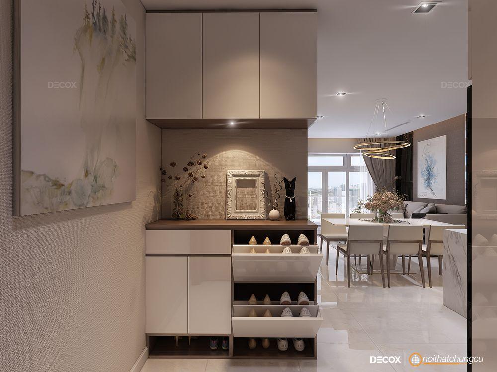 Tư vấn thiết kế nội thất căn hộ Kingston Residence 85m2