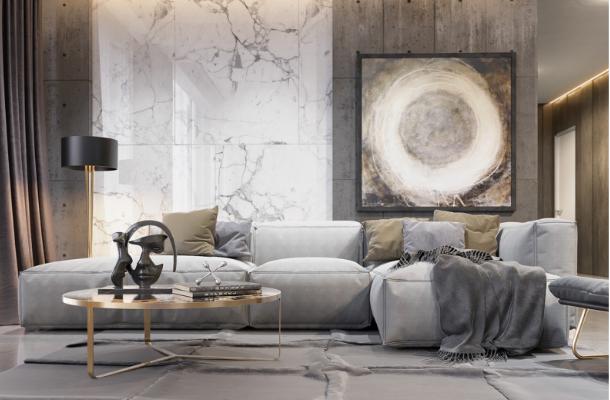 Tư vấn thiết kế nội thất căn hộ Samland Giai Việt 138m2