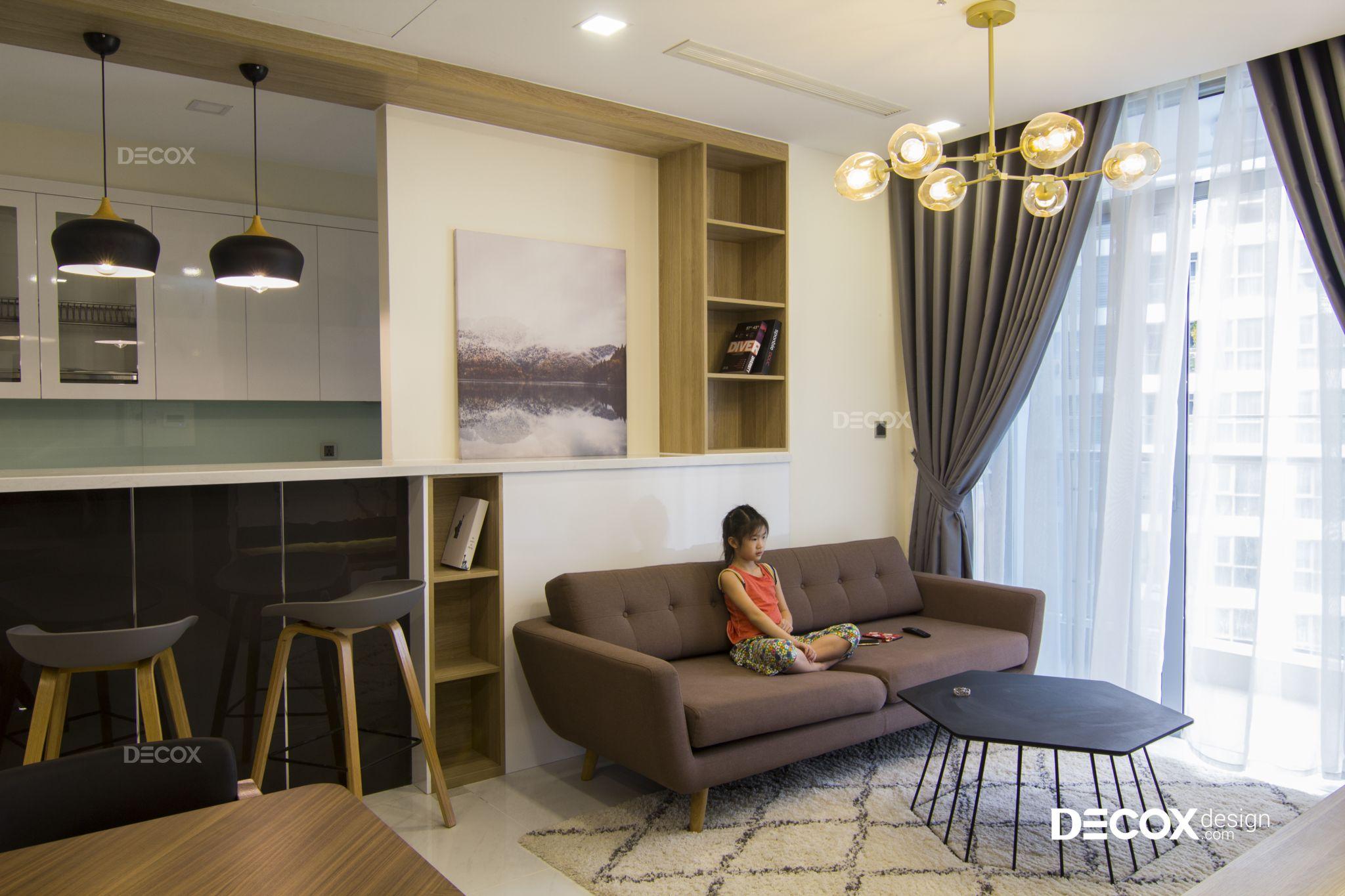Thi công nội thất căn hộ Vinhomes Central Park 104m2