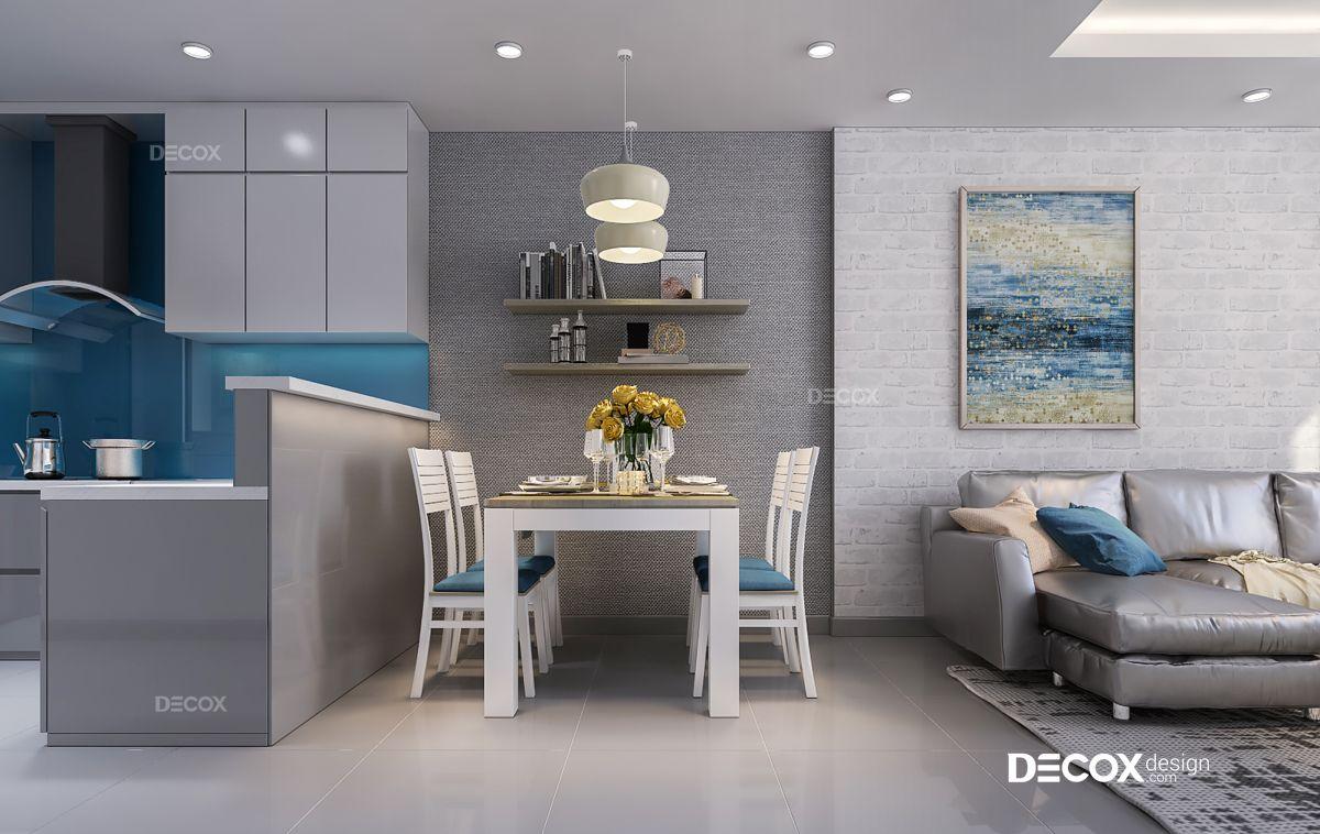 Thiết kế nội thất căn hộ Gold View 65m2