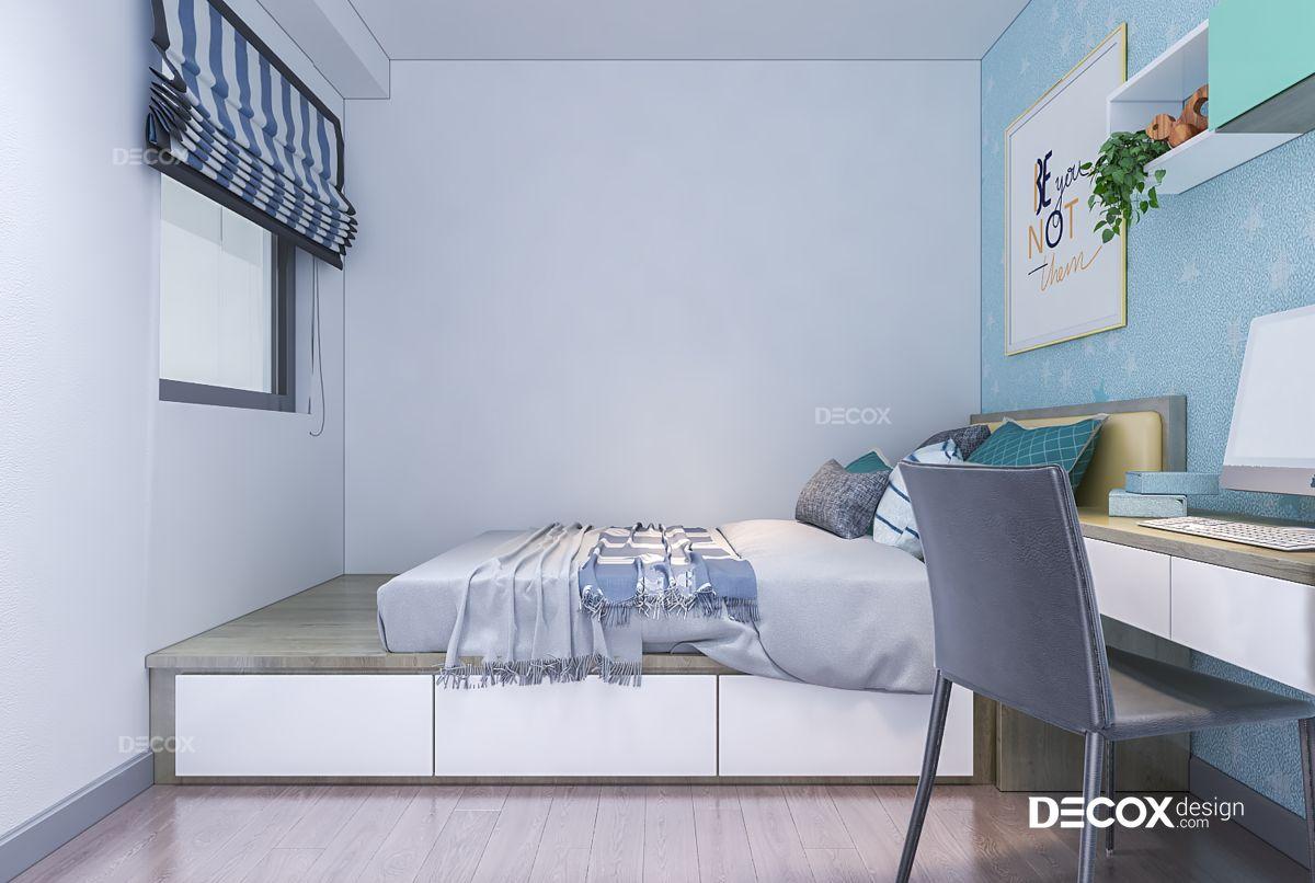 Thiết kế nội thất chung cư Gold View 65m2