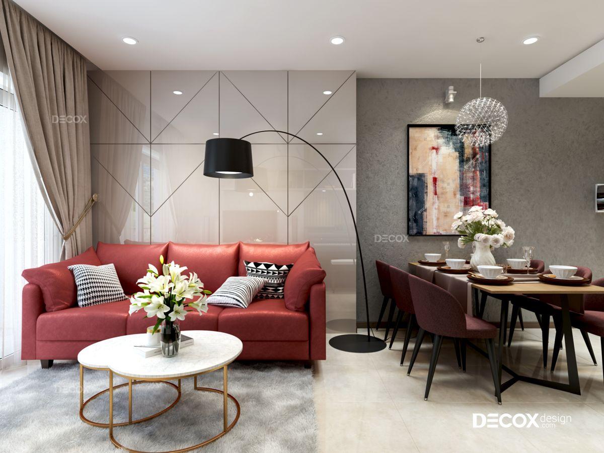Thiết kế nội thất căn hộ Kingston Residence 84m2