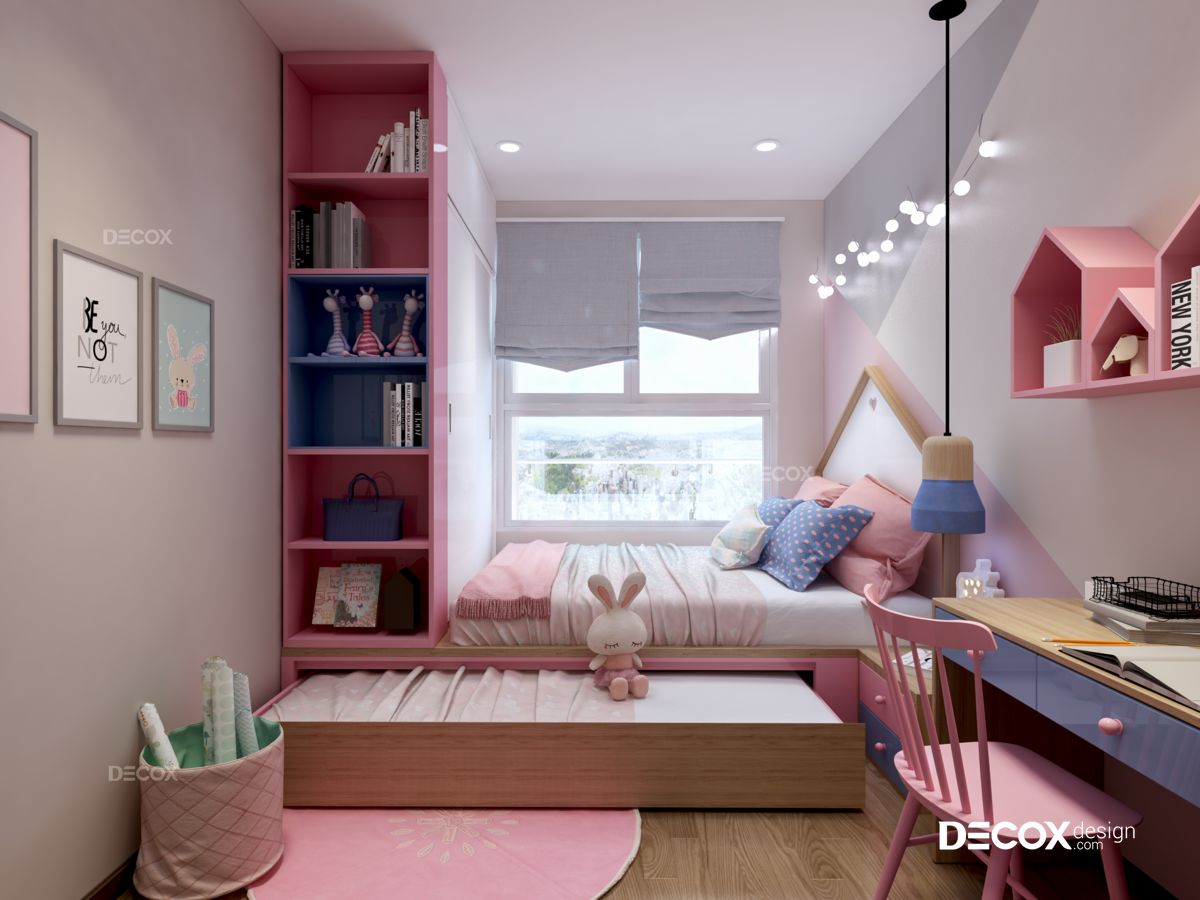 Thiết kế nội thất chung cư Kingston Residence 84m2