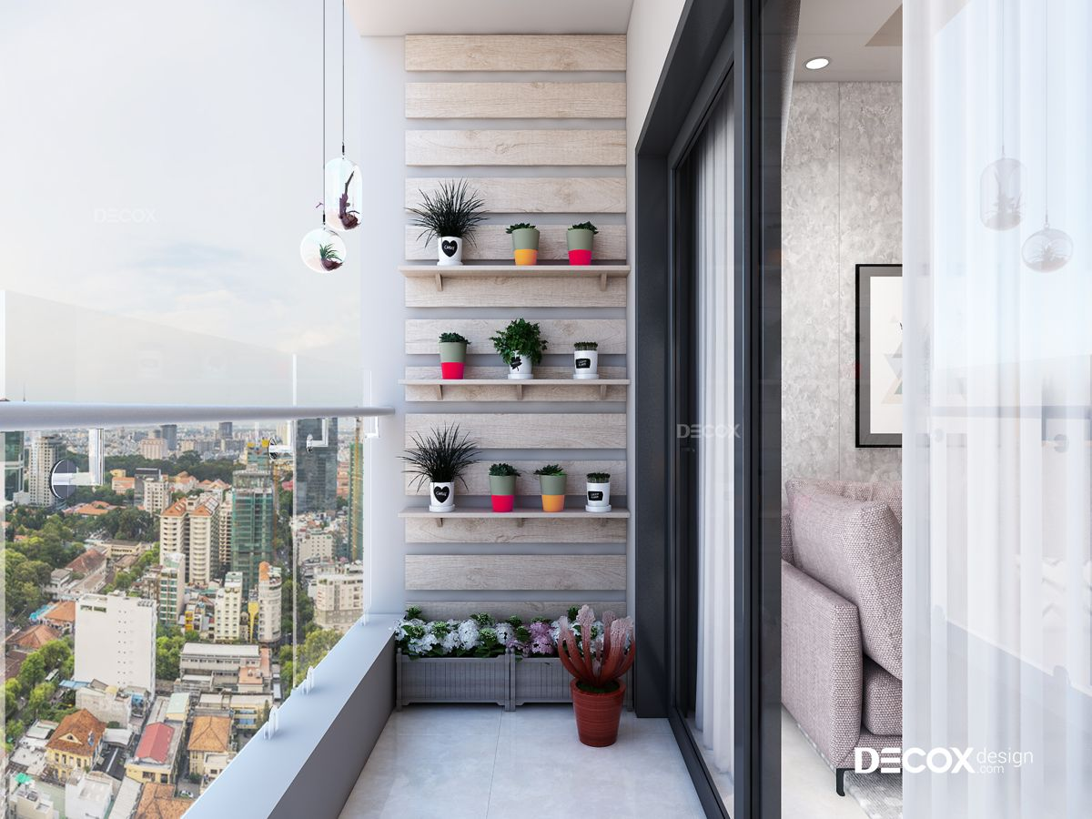 Thiết kế nội thất chung cư Gold View 90m2