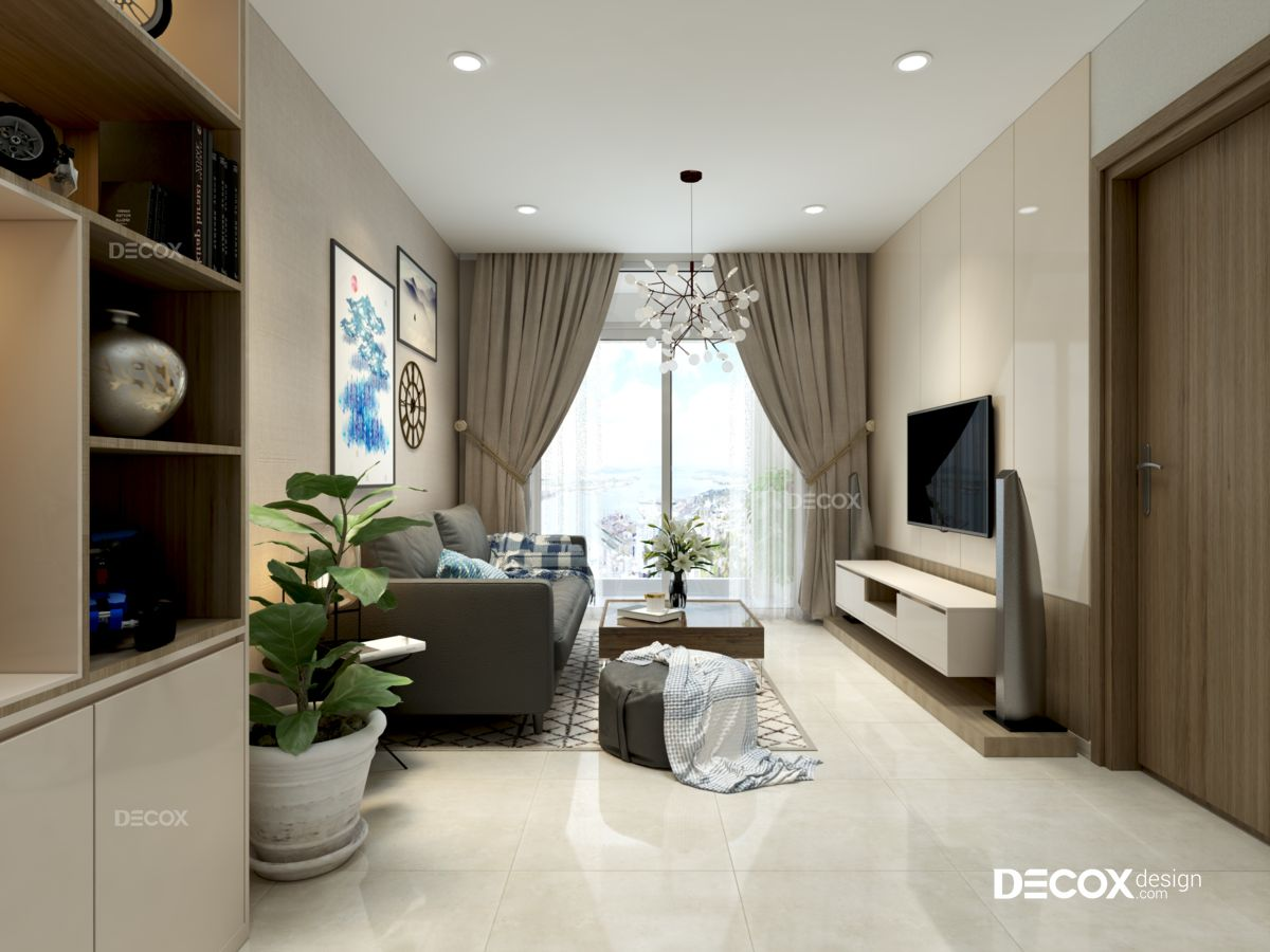 Thiết kế nội thất chung cư Cityland Park Hills 92m2