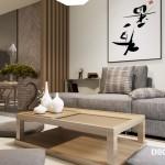 Thiết kế nhà chung cư kiểu Nhật
