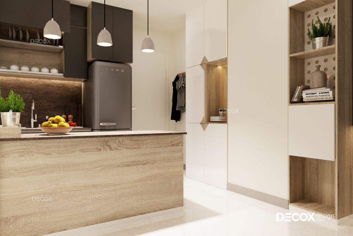 Thiết kế nội thất chung cư Cityland Park Hills 70m2