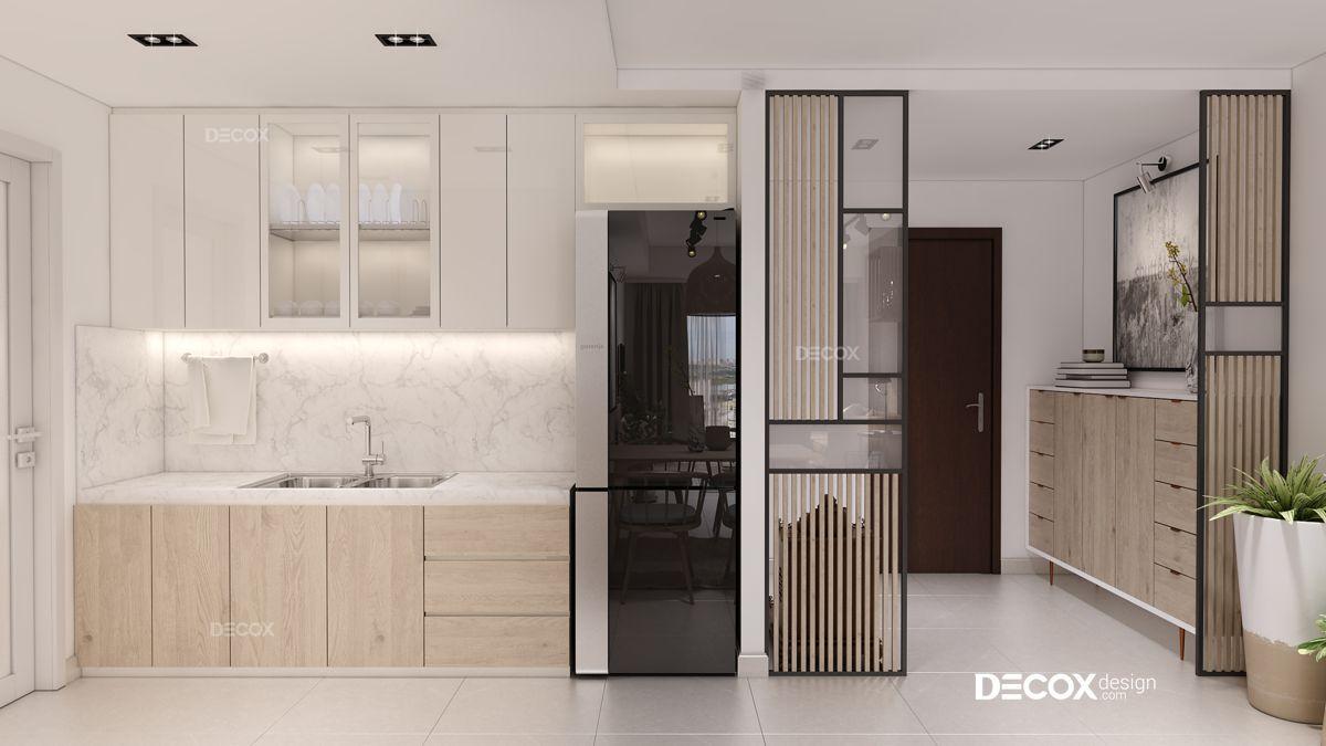 Thiết kế nội thất chung cư Lucky Palace 84m2