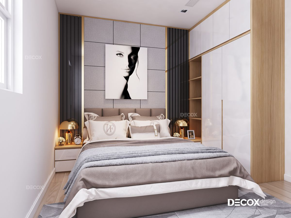 Thiết kế nội thất chung cư Oriental Plaza 105m2
