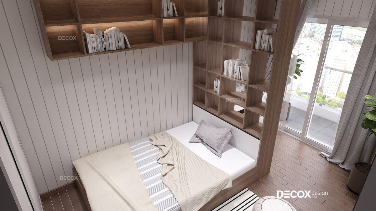 Thiết kế nội thất chung cư Vinhomes Central Park 116m2