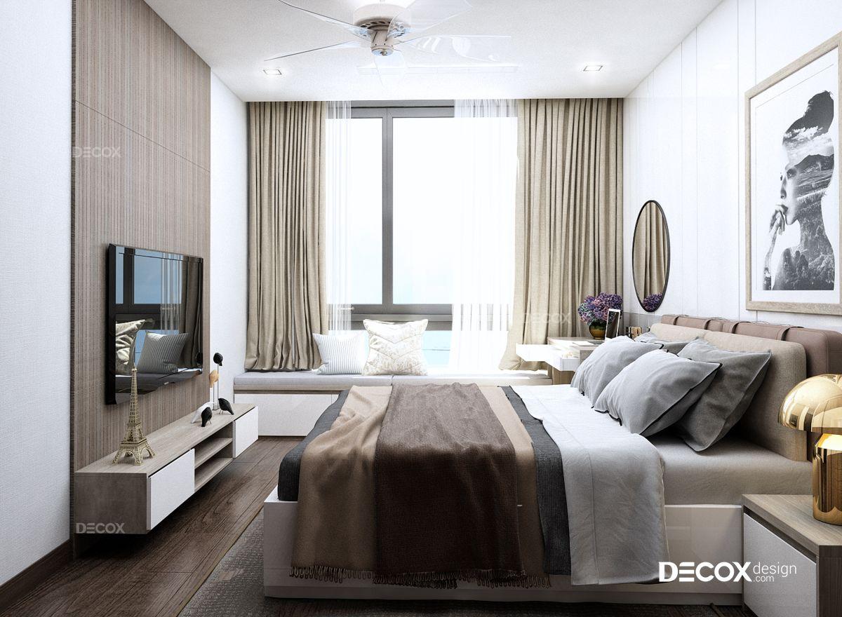 Thiết kế nội thất chung cư Vinhomes Central Park 83m2