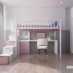 Thiết kế nội thất chung cư Vinhomes Central Park 98m2