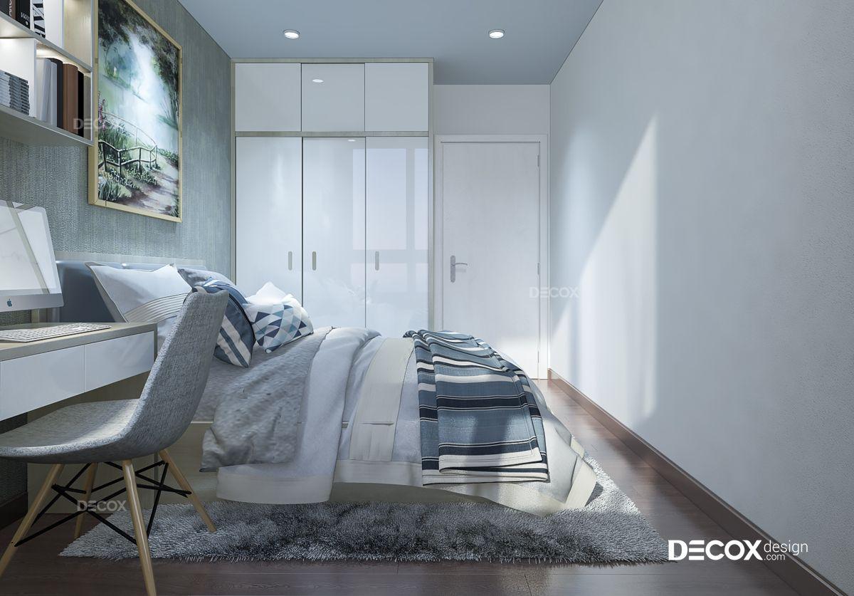 Thiết kế nội thất chung cư Vista Verde 124m2
