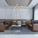 Thiết kế nội thất biệt thự Nine South Estates 217m2
