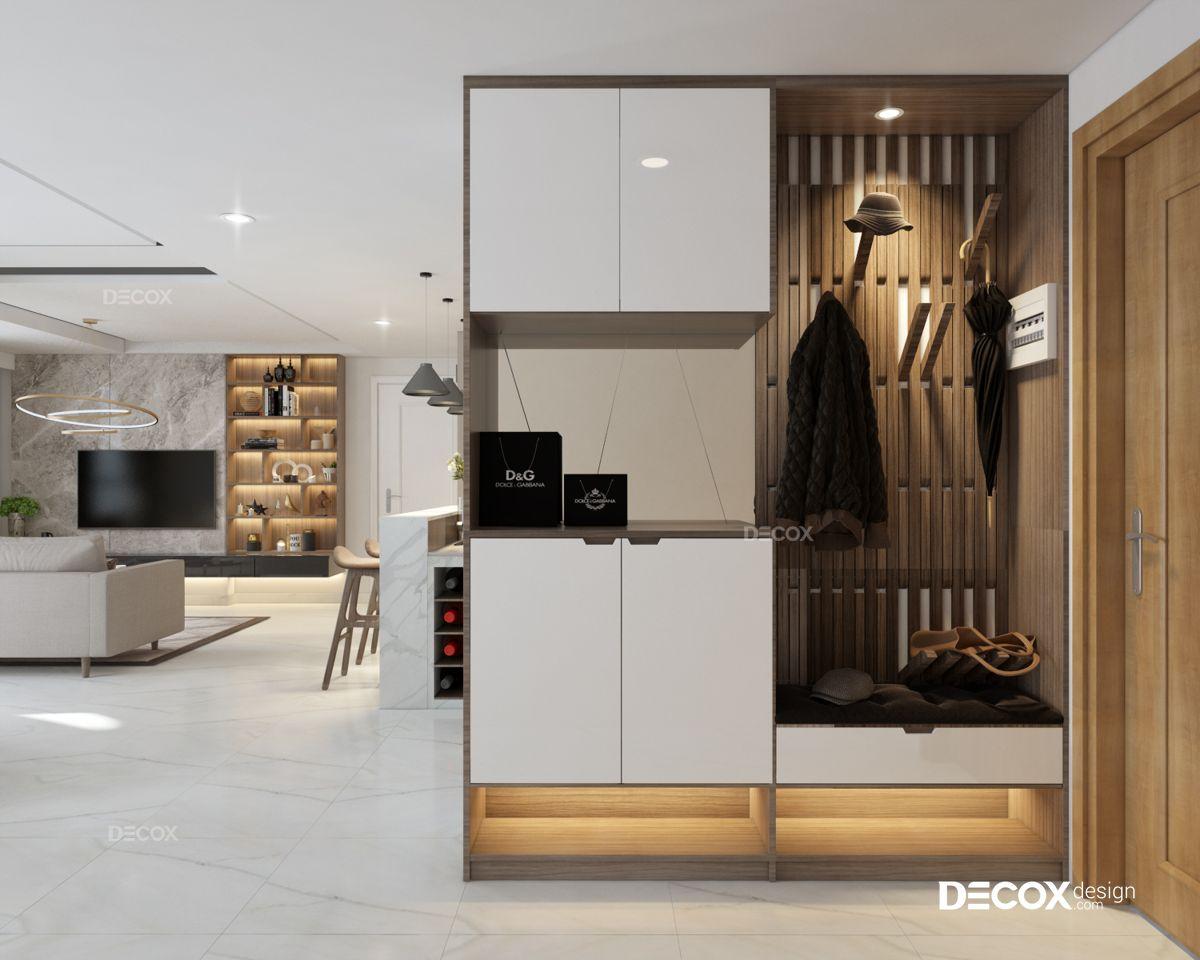 Thiết kế nội thất chung cư Masteri 130m2