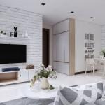 3 màu tường giúp bạn trang trí căn hộ đẹp mọi góc nhìn