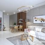 Thiết kế nội thất chung cư Vinhomes Golden River 72m2