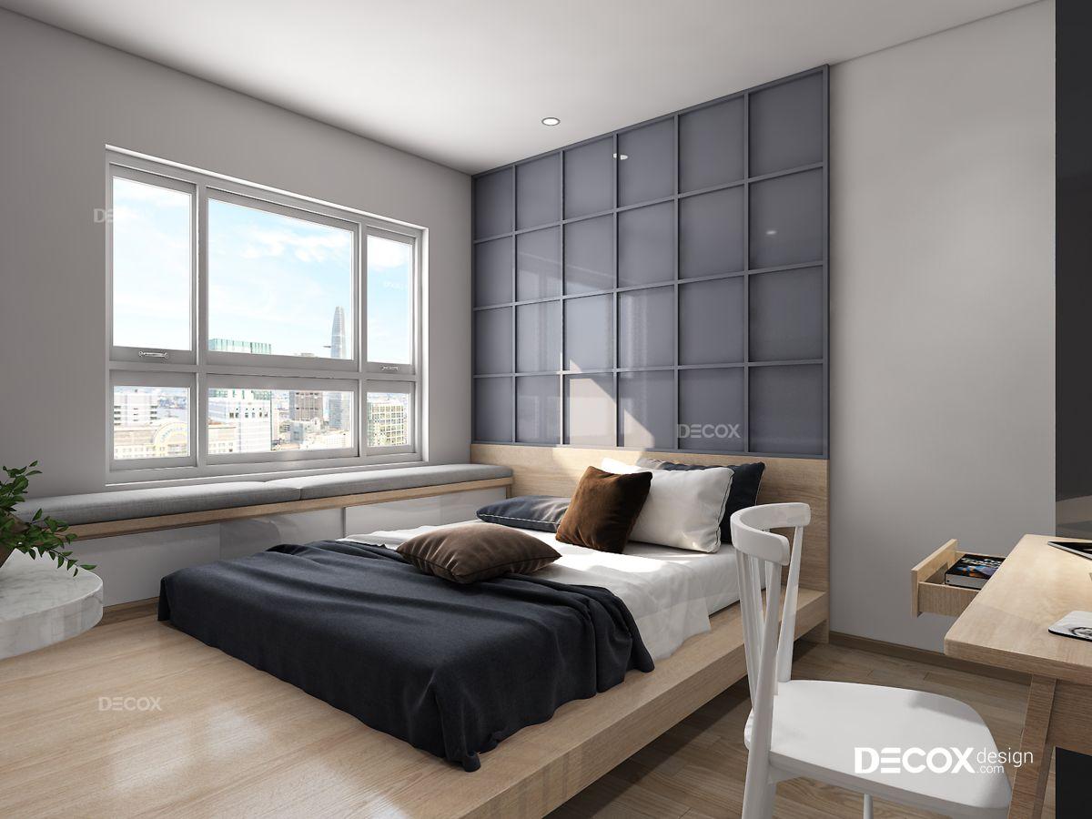 Thiết kế nội thất chung cư Vista Verde 107m2
