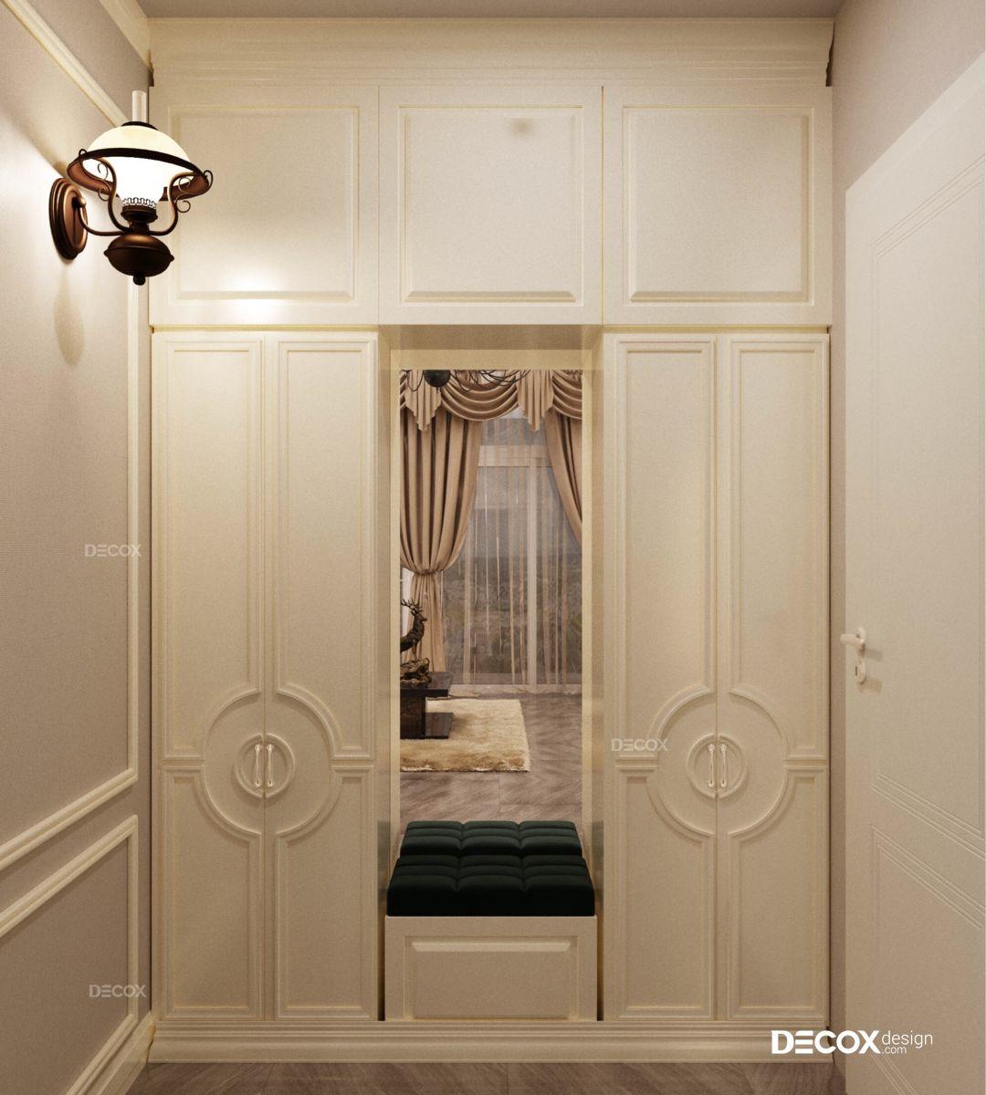 Thiết kế nội thất chung cư Hoàng Anh Gia Lai 270m2