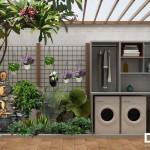 Ngất ngây với nội thất nhà phố phong cách hiện đại có sân vườn đẹp từng cen-ti-mét