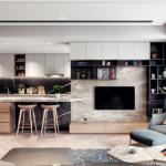Tư vấn thiết kế nội thất chung cư Gold View 124m2