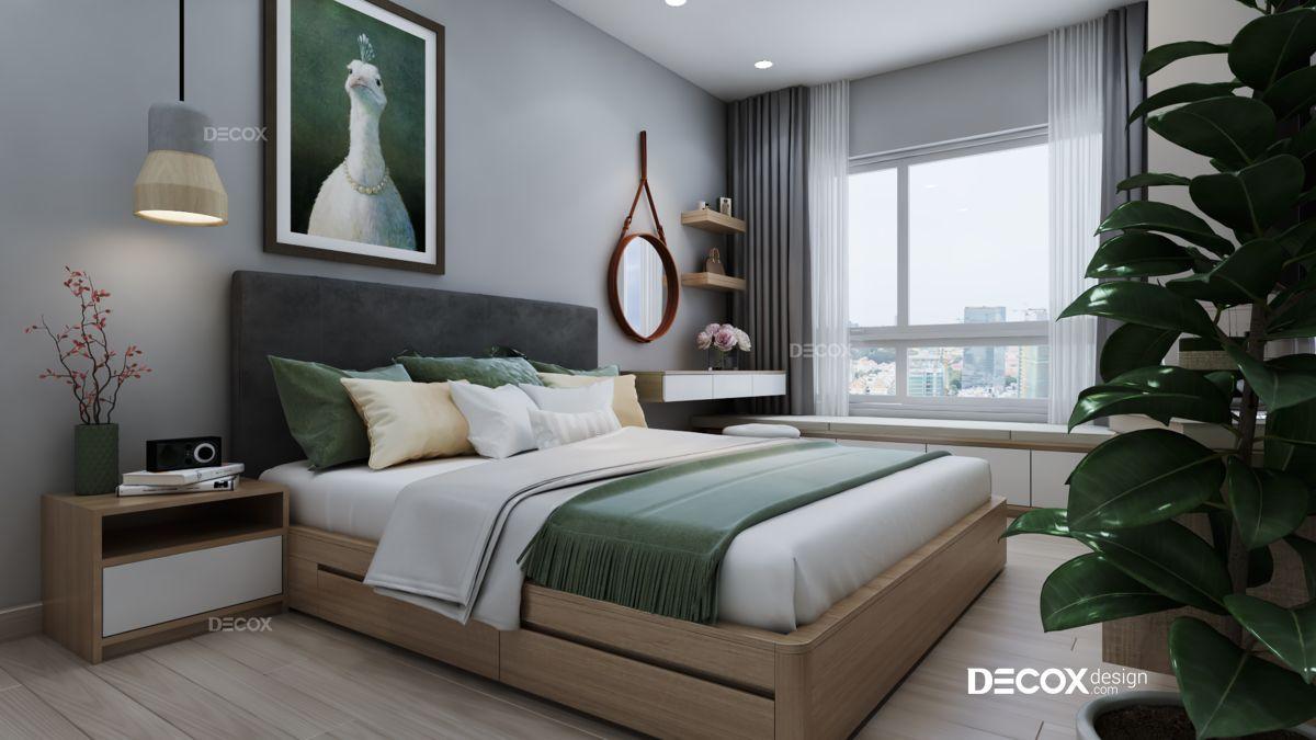 Thiết kế nội thất chung cư Viva Riverside 68m2