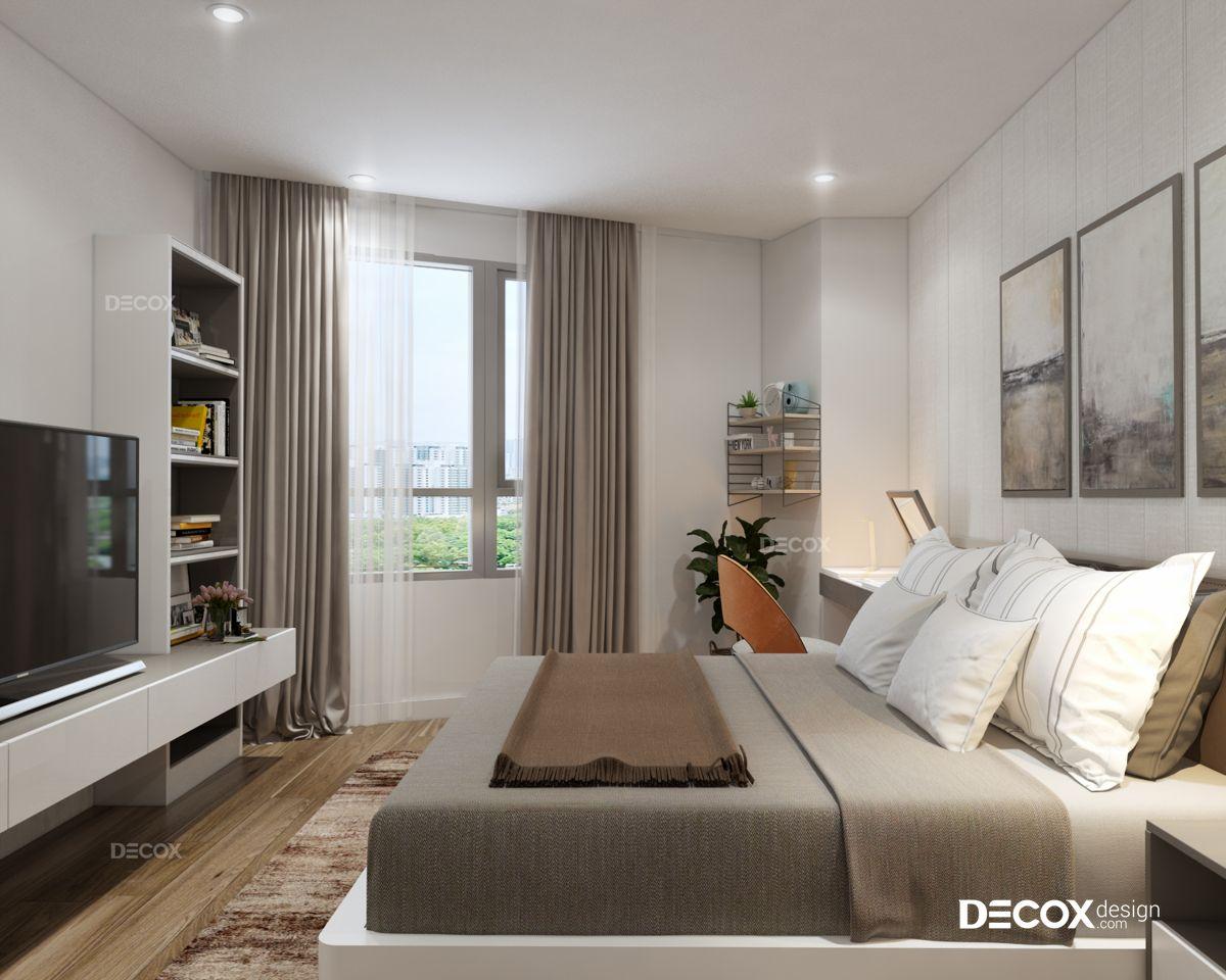 Thiết kế nội thất chung cư Sun Village 81m2