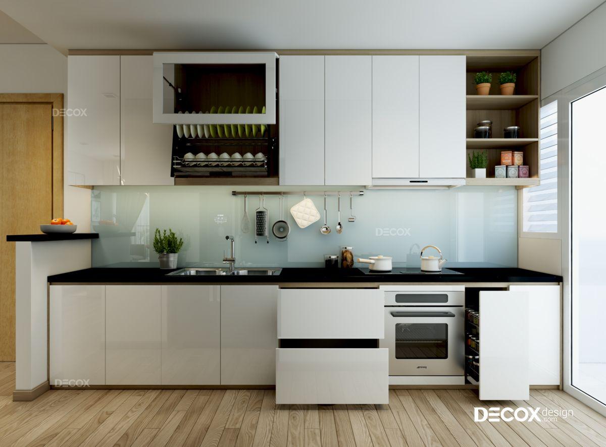Thiết kế nội thất chung cư Vista Verde 75m2
