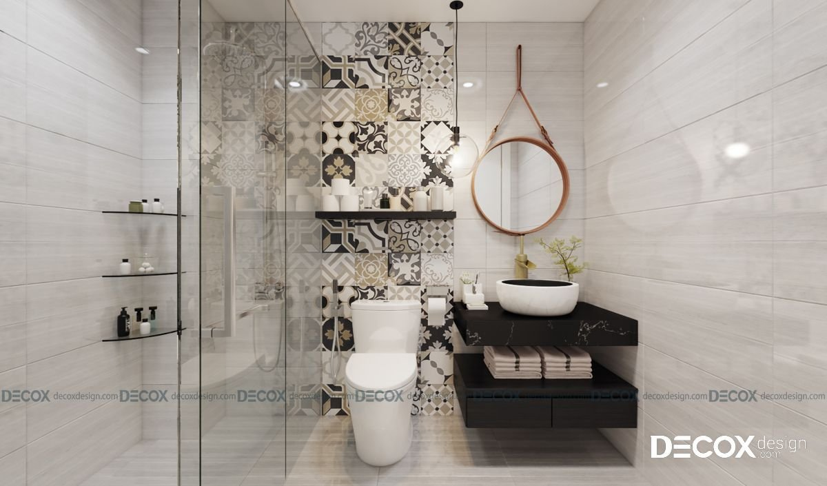 Thiết kế nội thất chung cư Diamond Lotus 69m2