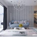 Thiết kế nội thất chung cư Galaxy 9 63m2