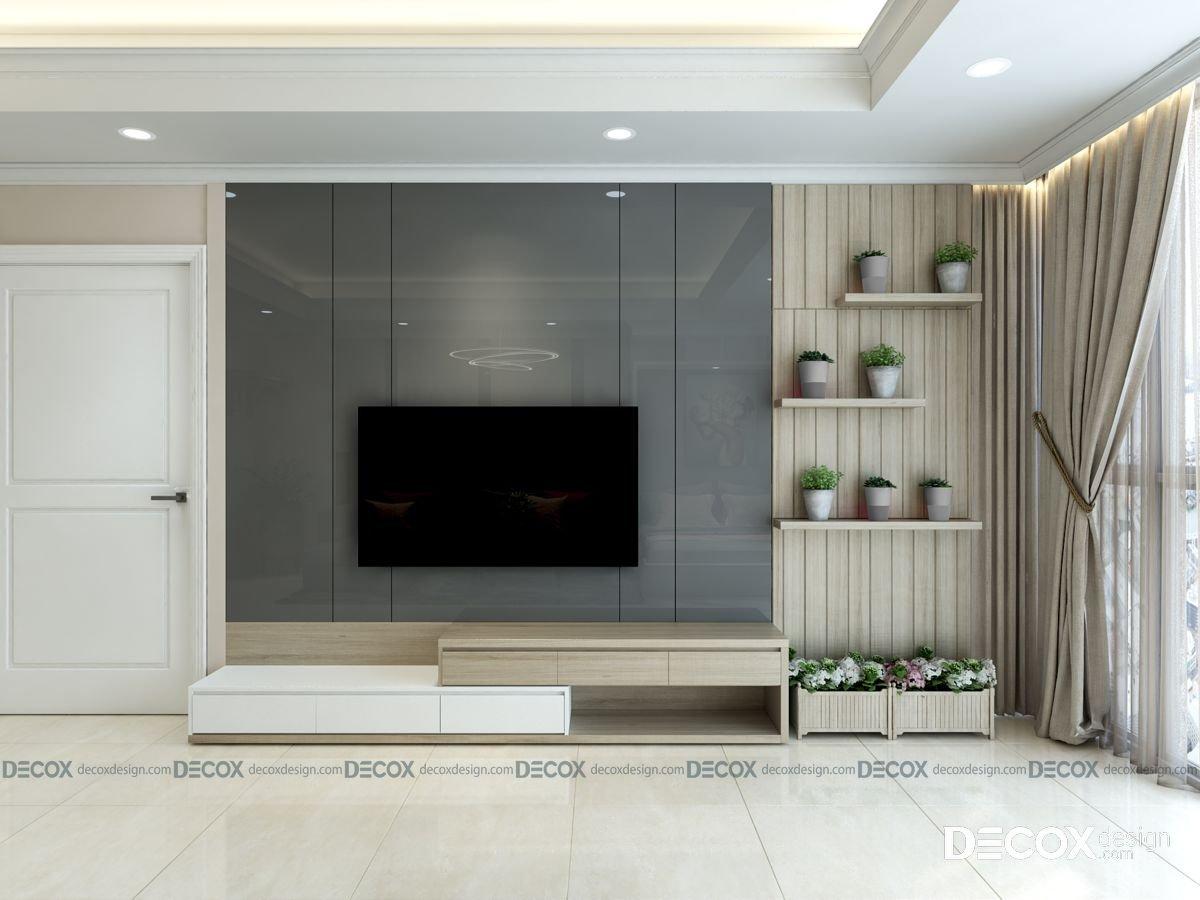 Thiết kế nội thất chung cư Imperia An Phú 130m2