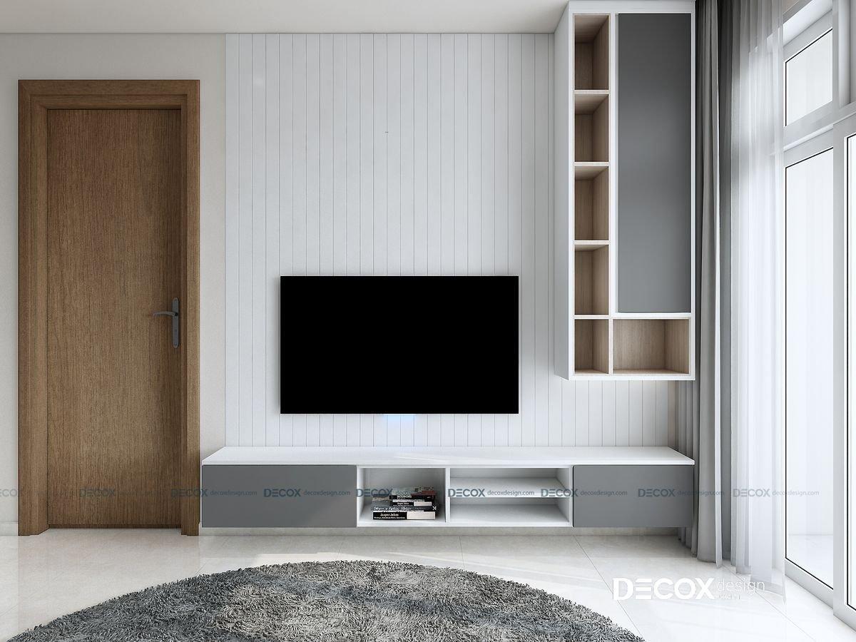 Thiết kế nội thất chung cư Cityland Park Hills 83m2