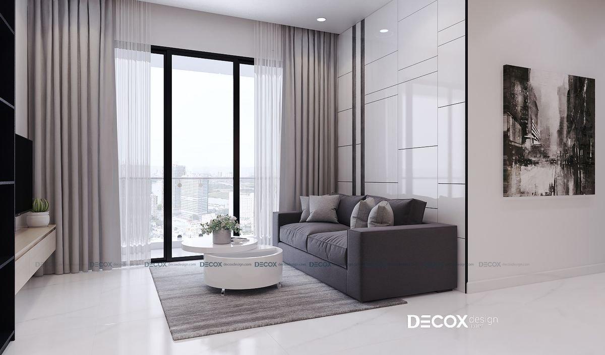 Thiết kế nội thất chung cư Estella Heights 82m2