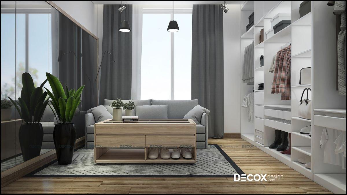 Thiết kế nội thất chung cư Masteri Millennium 97m2