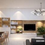 Thiết kế nội thất chung cư Sadora Sala 83m2